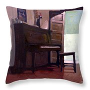 Allison's Piano Throw Pillow