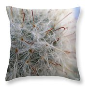 Allium Sativum Throw Pillow