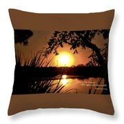 All's Right Throw Pillow