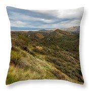 Alluring Landscape Of Arizona Throw Pillow