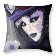 Alluring Venetian Throw Pillow