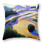 Alluring Windy Hill Throw Pillow