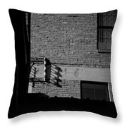 Ally Wires Throw Pillow