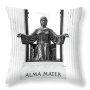 Alma Mater Throw Pillow