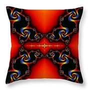 Almond Apples Reworked Throw Pillow