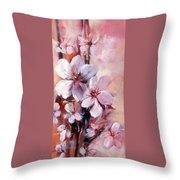 Almonds Blossom  12 Throw Pillow