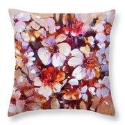 Almonds Blossom  5 Throw Pillow