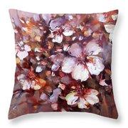 Almonds Blossom  7 Throw Pillow
