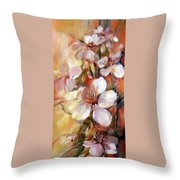 Almonds Blossom  9 Throw Pillow