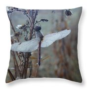 Almost Dry Throw Pillow