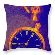 Almost Eight Throw Pillow