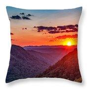 Almost Heaven - West Virginia Throw Pillow