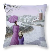 Almost Home Throw Pillow by Peter Szumowski