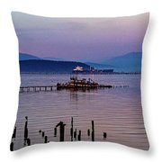 Almost Home Two Throw Pillow