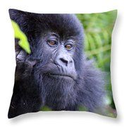 Almost Human Throw Pillow