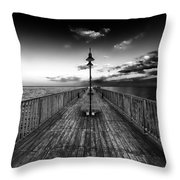 Almost Infinity Throw Pillow