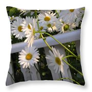 Almost Out  Throw Pillow