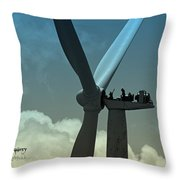 Almost Out Of Sight Throw Pillow