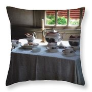Almost Tea Time Throw Pillow