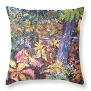 Almost Tropical Throw Pillow