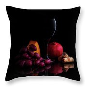 Almost Wine Throw Pillow