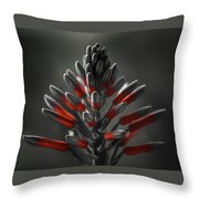 Aloe In Bloom Throw Pillow