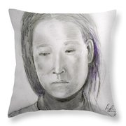 Alone Again Two Throw Pillow