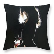 Alone At Home2 Throw Pillow