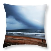 Alone In St. Augustine Throw Pillow