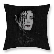Alone In The Dark I Throw Pillow