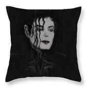 Alone In The Dark II Throw Pillow