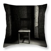Alone In The Room Throw Pillow