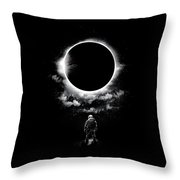 Alone In The Space Throw Pillow