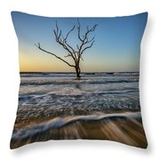 Alone In The Water Throw Pillow