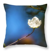 Alone In The Wind Throw Pillow