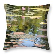 Alone With My Thoughts Throw Pillow