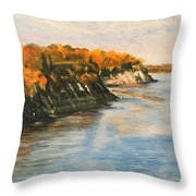 Along The Chesapeake Bay Throw Pillow