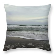 Along The Great Highway Throw Pillow