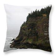 Along The Oregon Coast - 6 Throw Pillow