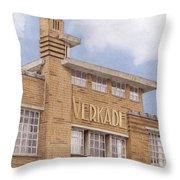 Along The River Zaan Verkade Factory Throw Pillow