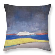 Along The Shoreline Throw Pillow