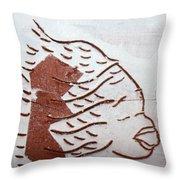 Aloud - Tile Throw Pillow