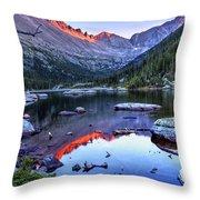 Alpenglow Throw Pillow