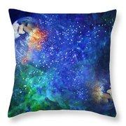 Alpha Centauri Abstract Moods Throw Pillow