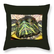 Alpha Throw Pillow