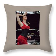 Alpha Monster Advanced Throw Pillow
