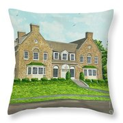 Alpha Tau Omega Throw Pillow