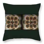 Alpha Waves - Gently Cross Your Eyes And Focus On The Middle Image Throw Pillow