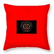 Alphabet Art4 Throw Pillow