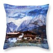 Alpine Bliss Throw Pillow
